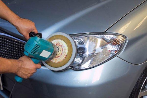 Car Polishing Rubbing