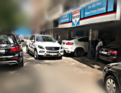 Authorized car service centre